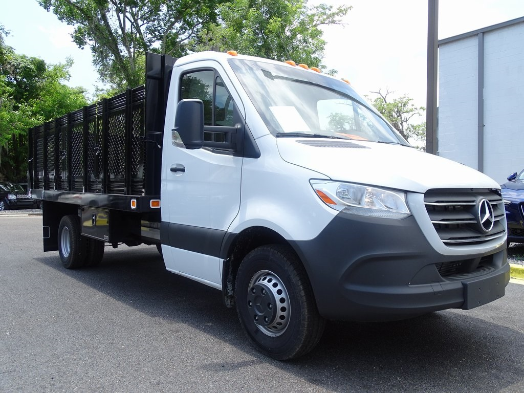 New 2019 Mercedes-Benz Sprinter 3500 170 WB CAB AND CHASSIS